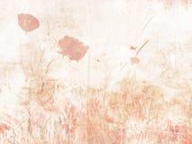 Floresça a aquarela do fundo - textura floral macia nas cores pastel ilustração stock