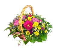 Floresça a cesta Fotografia de Stock