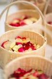 Floresça a cesta Foto de Stock Royalty Free