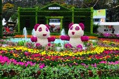 Mostra de flor internacional 2013 de Hong Kong Fotografia de Stock Royalty Free