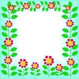 Floresça o frame Ilustração do Vetor