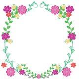 Floresça o frame Imagem de Stock