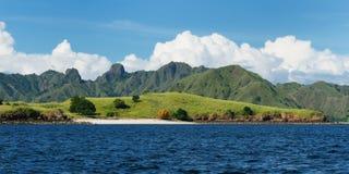 flores印度尼西亚komodo国家公园 免版税库存图片