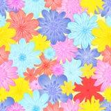 Flores 2 del extracto Imagenes de archivo