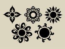 Flores 2 (flores decorativas) Fotografía de archivo libre de regalías