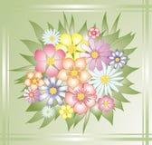 flores, royalty ilustracja