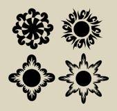 Flores 3 (elementos) Fotografía de archivo libre de regalías