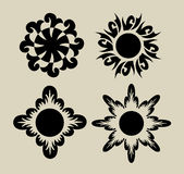 Flores 3 (elementos) Fotografia de Stock Royalty Free