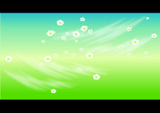 Flores ilustración del vector