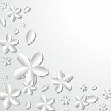 Flores ilustração stock