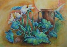 Flores Ilustração do Vetor