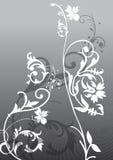Flores abstractas Foto de archivo libre de regalías
