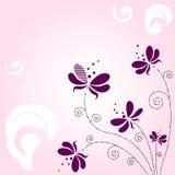 Flores abstractas Imagenes de archivo