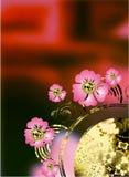 Flores abstractas Imagen de archivo