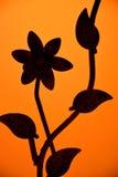 Flores abstractas del hierro Foto de archivo
