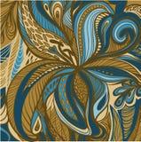 Flores abstractas del lirio Imágenes de archivo libres de regalías