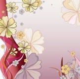Flores abstractas del resorte Fotografía de archivo libre de regalías