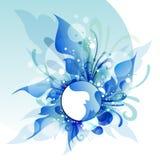Flores abstractas, diseño de Illustrationfor del vector Foto de archivo