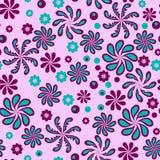 Flores abstractas fantásticas ilustración del vector