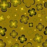 Flores abstractas monocromáticas Libre Illustration