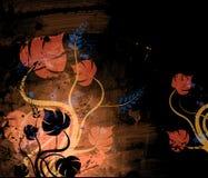 Flores abstratas Fotografia de Stock Royalty Free