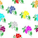 Flores abstratas Imagens de Stock Royalty Free