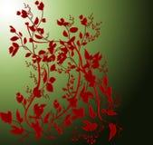 Flores abstratas ilustração stock