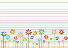 Flores abstratas Foto de Stock Royalty Free