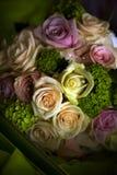 Flores abstratas do casamento, Imagem de Stock Royalty Free