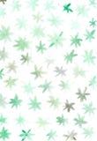 Flores abstratas simples pasteis da aquarela ilustração stock