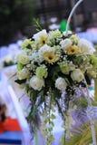 Flores agradables de la decoración imagen de archivo libre de regalías