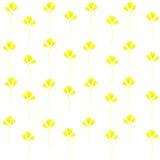 Flores amarillas Imagen de archivo libre de regalías