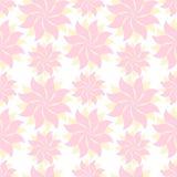Flores amarillas y rosadas, románticas Fotografía de archivo