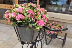 Flores artificiais Imagem de Stock