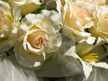 Flores artificiais Fotografia de Stock