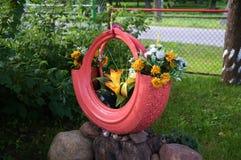 Flores artificiais fotografia de stock royalty free