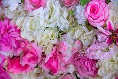 Flores artificiais Foto de Stock Royalty Free