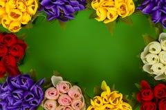 Flores artificiales Imagenes de archivo