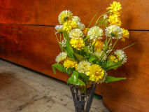 Flores artificiales Fotografía de archivo libre de regalías