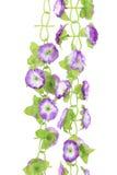 Flores artificiales colgantes Fotos de archivo libres de regalías