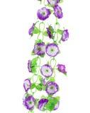 Flores artificiales colgantes Fotografía de archivo