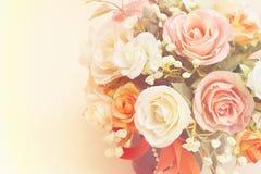 Flores artificiales de Beautyful Foto de archivo