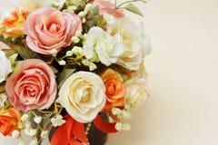 Flores artificiales de Beautyful Fotos de archivo libres de regalías