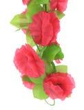 Flores artificiales rosadas colgantes. Imagen de archivo libre de regalías
