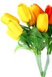 Flores artificiales (tulipán) Imagenes de archivo