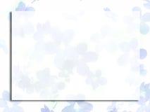 Flores azuis pequenas ilustração stock