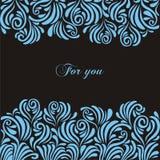 Flores azules Foto de archivo libre de regalías