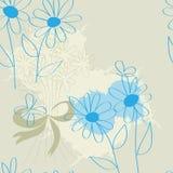 Flores azules Fotos de archivo