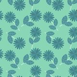 Flores azules ilustración del vector