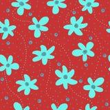 Flores azules Fotos de archivo libres de regalías